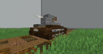 Renault FT17 | 1.5:1 Scale Minecraft Map & Project