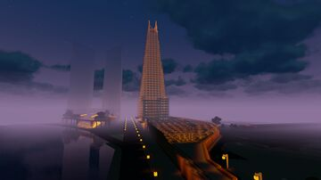 The Shard V2 Minecraft Map & Project