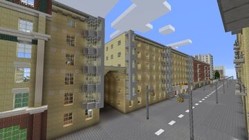 Russian/Soviet Apartment Building Minecraft Map & Project