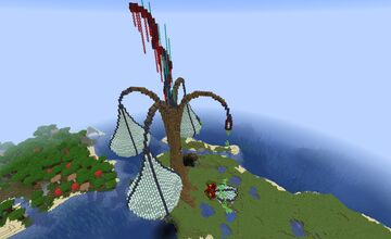 Infected Alien Tree Minecraft Map & Project