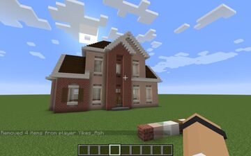 Med-Sized Suburban House Minecraft Map & Project