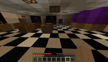 FNAF 1 2 3 4 map Minecraft Map & Project