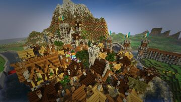 MEDIEVAL CITY / Ciudad Medieval (Not Finished yet) Minecraft Map & Project
