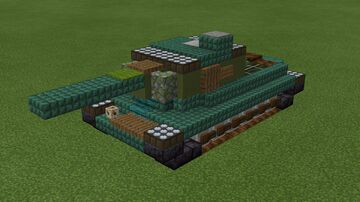 1.5:1 scale Iosif Stalin (IS) Heavy Tank family full collection Minecraft Map & Project