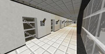 SCP Site 19 Minecraft Map & Project