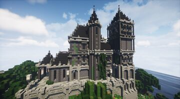 Creepy Gothic Chateau | MFC | Minecraft Map & Project