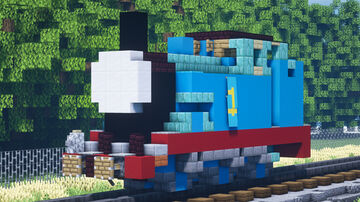 Thomas the Tank Engine Minecraft Map & Project