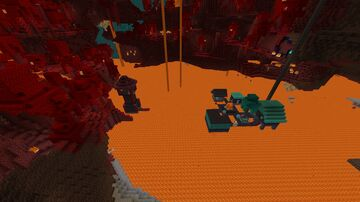 Nether Village Minecraft Map & Project