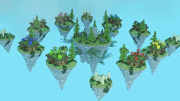 Bed Wars Map (Granny's Garden) Minecraft Map & Project