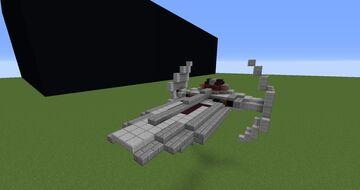 Darth Maul's ship - Scimitar | Minecraft 1.12.2 Minecraft Map & Project