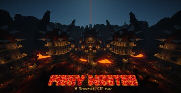 [1.8-1.16] Fiery Wastes - Capture The Flag map Minecraft Map & Project
