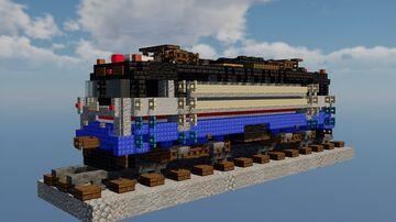 EMD AEM-7 (Amtrak #900) Minecraft Map & Project