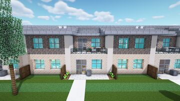 Rowhouse | Greenfield Minecraft Map & Project