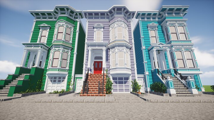 Popular Map : Chisel and Bits San Francisco Victorian Houses