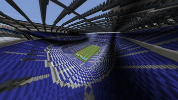 Random American football stadium Minecraft Map & Project