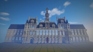 Paris City Hall Minecraft Map & Project