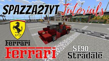 Ferrari SF90 Stradale Minecraft Map & Project