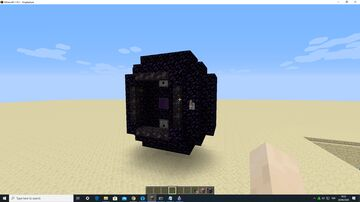 "Fancy ECNP. (""Electronically"" Controlled Nether Portal) Minecraft Map & Project"