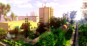 Nova Role (part 7 of project railway KVJG 2020) Minecraft Map & Project