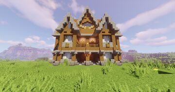 Small medieval mansion | CultCraft.de Minecraft Map & Project