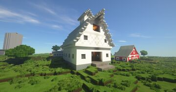 Country House and Farm buildings Minecraft Map & Project