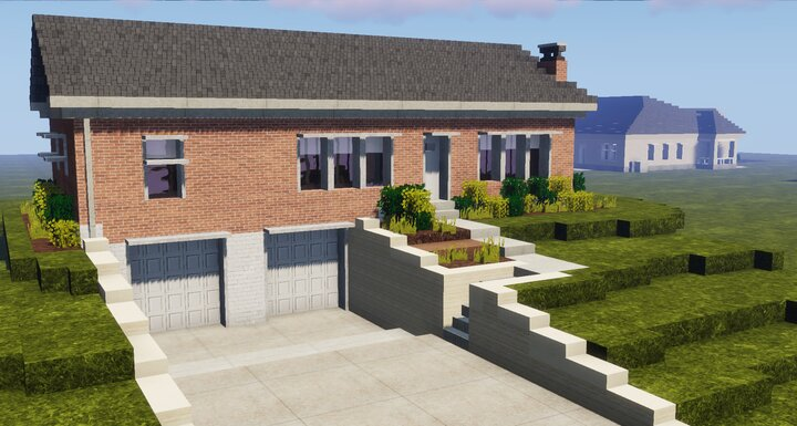 Realistic House Minecraft Map