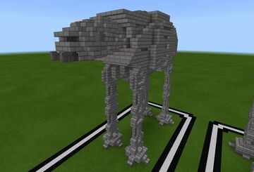 AT-AT (Rebels) Minecraft Map & Project