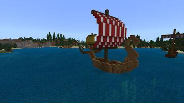 Viking Settlement Minecraft Map & Project
