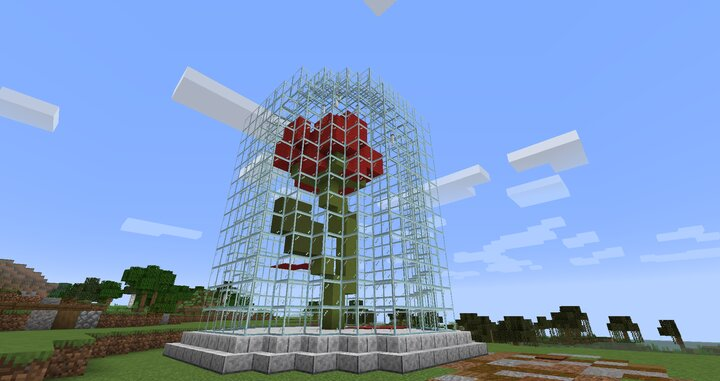 Popular Server Map : Enchanted Rose Build
