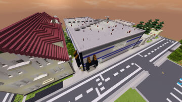 Small modern minimum security prison. Minecraft Map & Project