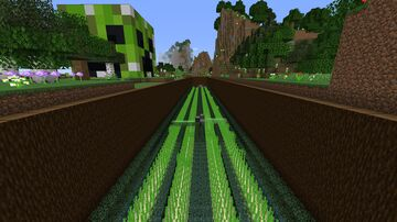 Sugercane farm Minecraft Map & Project