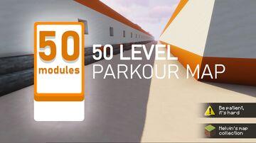 50 MODULES [1.0] - Parkour Map Minecraft Map & Project
