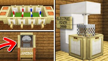 5 Small Ways to Decorate Your House! (No Command Blocks!) Minecraft Map & Project