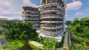 Hotel Atlantic - Britannia City Minecraft Map & Project