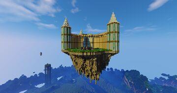 Elves Castle ( floating castle) Minecraft Map & Project