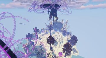 End theme Skyblock Minecraft Map & Project