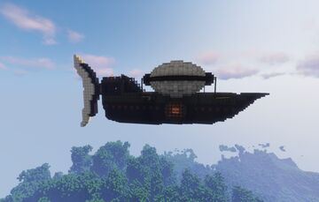 Airship Network Minecraft Map & Project