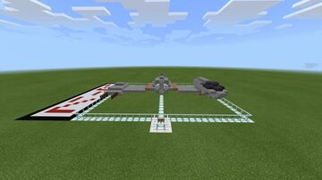 Star Wars Ski Speeder Minecraft Map & Project