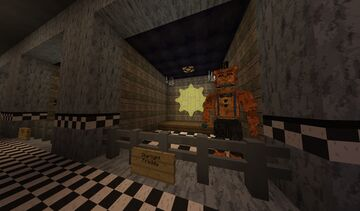 Fnaf Universe Gallery [1.12.2] Minecraft Map & Project