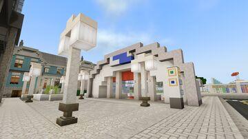 Redstone Station - Lazuli Central Rapid Transit Minecraft Map & Project
