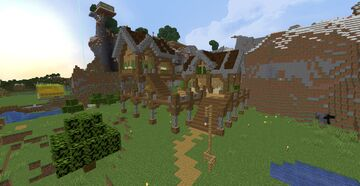 Scarecrow Arsenal Estates - Plains - Gamer Haha's Survival Map #1 Minecraft Map & Project