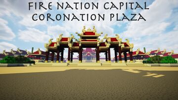 | Fire Nation Capital - Avatar: The Last Airbender | Minecraft Map & Project