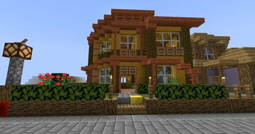 Beach House 1 Minecraft Map & Project