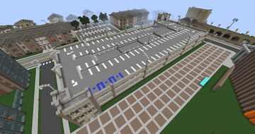 GEU Stadium/Medicine Parking Garage Minecraft Map & Project