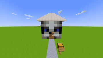 The Head-House of Plutouthere Minecraft Map & Project