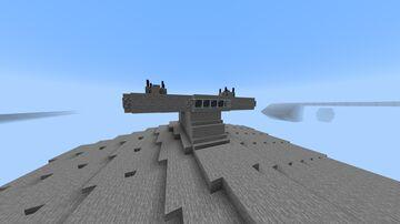 Vindicator class Cruiser 1/5 scale Minecraft Map & Project