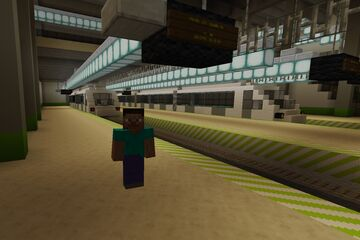 New Metro Station Minecraft Map & Project