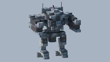 WW2 Wolfenstein Mech Minecraft Map & Project