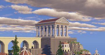 Greek City of Demuria: By Ekenz Minecraft Map & Project