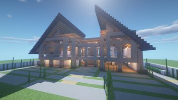 Modern House V (1.16+) Minecraft Map & Project